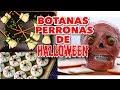 HAZ BOTANAS PERRONAS DE HALLOWEEN. EXPECTATIVA/REALIDAD
