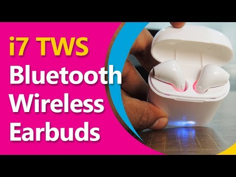 Review: i7S TWS Twin Wireless Bluetooth Earpods | Much Cheaper than Apple Airpods
