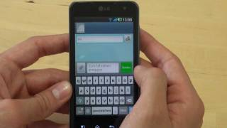 LG P990 Optimus Speed 2X Test Bedienung