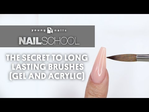 YN NAIL  SCHOOL - THE SECRET TO LONG LASTING BRUSHES (GEL AND ACRLYIC)