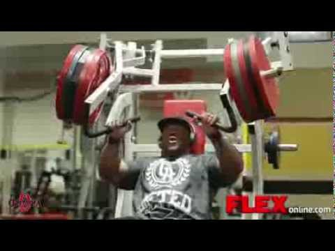 Mr.Olympia Phil Heath - Chest training (8 weeks out from 2013 Mr.Olympia)