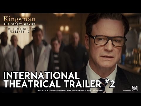 Kingsman: The Secret Service [Official Theatrical Trailer #2 In HD (1080p)]