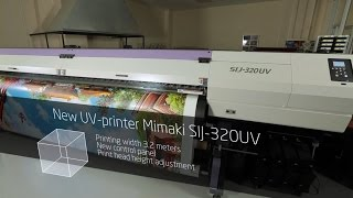 Stretch ceilings printing process with Mimaki SIJ-320UV