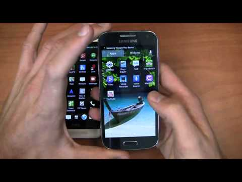 HTC One mini vs. Samsung Galaxy S4 mini Dogfight Part 1