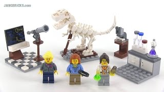 LEGO Ideas 21110 Research Institute set Review!