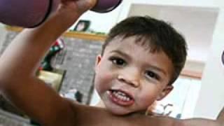 World's Strongest Toddler Liam Hoekstra