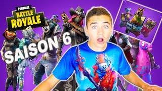 JE TESTE LA SAISON 6 !!! -  FORTNITE BATTLE ROYALE - Néo The One