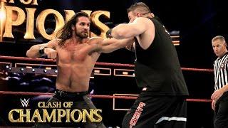 Seth Rollins vs. Kevin Owens – WWE Universal Championtitel Match: WWE Clash of Champions 2016