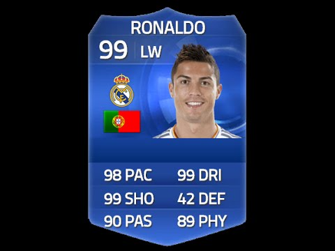 FIFA 15 TOTY RONALDO 99 Player Review & In Game Stats Ultimate Team