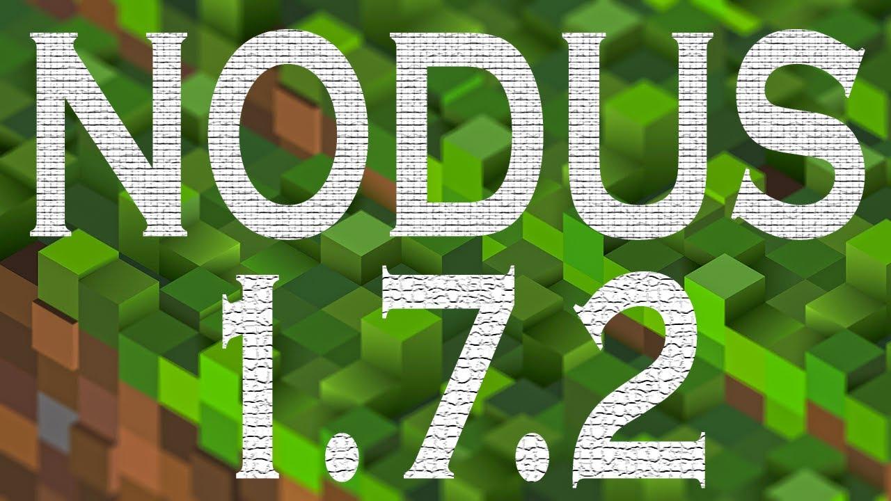 Скачать чит клиент Nodus для Minecraft 1.7.2