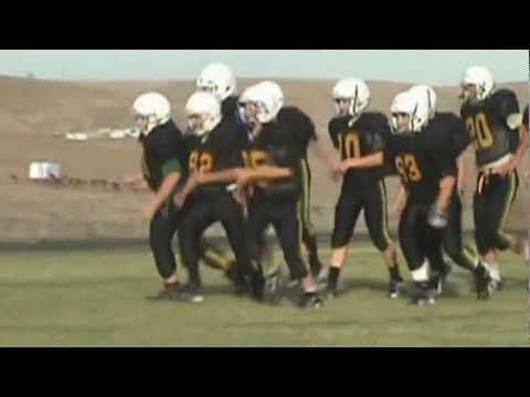 Sunridge Middle School - Bower to Bynum TD Pass - 7th grade