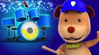 Bingo   Kindergarten Nursery Rhymes   Compilation Of Videos For Babies by Farmees