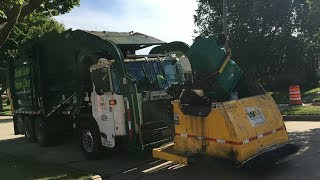 Waste Management — Autocar ACX McNeilus Curotto Can Garbage Truck