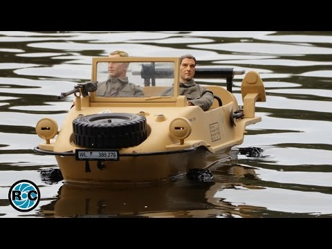 MILITARY RC AMPHIBIOUS CAR OFFROADER 4x4 VW Typ 166