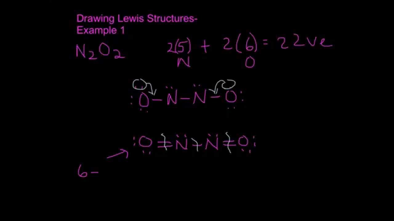 Lewis Structure For N2o2 images
