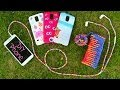 DIY 10 Easy Phone Projects. DIY Phone (Case, Pouch & More).  Win Samsung Galaxy S5!