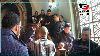 المخرج سعيد حامد يطرد الصحفيين من جنازة «محمد حسن رمزي»