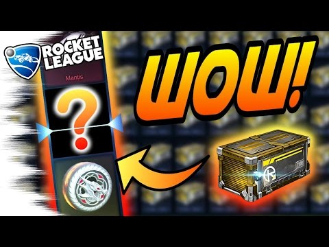 CRAZY!!! - HUGE NITRO Rocket League Crate Opening! (Search for Bubbly, Spectre, Mantis, Dracos)