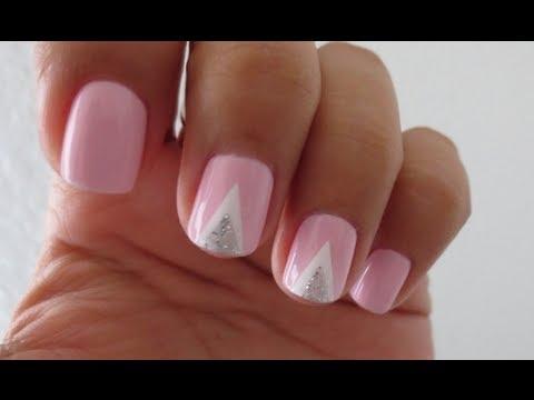 Double ▲ nail tutorial! (tape mani)