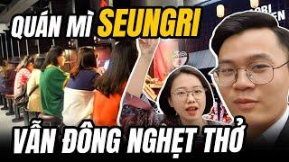 Bất chấp Drama, quán mì Aori Ramen của Seungri vẫn đông nghẹt thở !