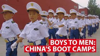 Boot Camp Turns 'Weak' China Boys Into 'Real Men'  | Cram Course Asia | CNA Insider