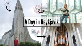 Free Things to do in Reykjavik // Iceland Ring Road Trip, Day 1