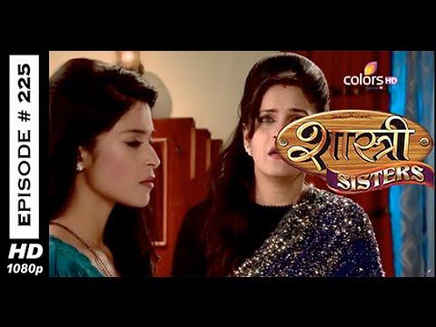 Shastri Sisters - 8th April 2015 - शास्त्री सिस्टर्स - Full Episode (HD)