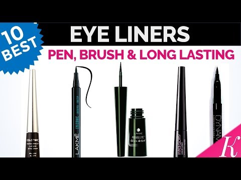 10 Best EyeLiners in India with Price | Liquid, Pen, Brush, Long Lasting & Waterproof