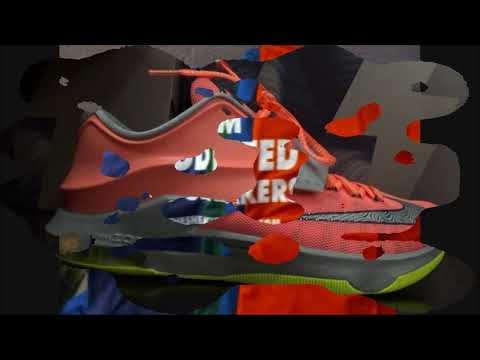 Nike KD 7 35.000 Degrees DMV Shoe Review Detailed HD With Dj Delz Sneaker Addict Show 7s VII