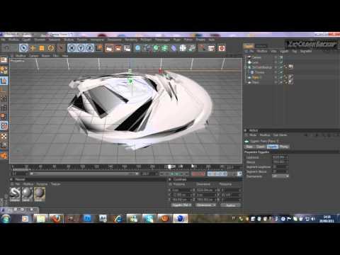 1#Tutorial Come fare una bella intro Stile Tornado in 3D con Cinema  4D 2 Parte ITA