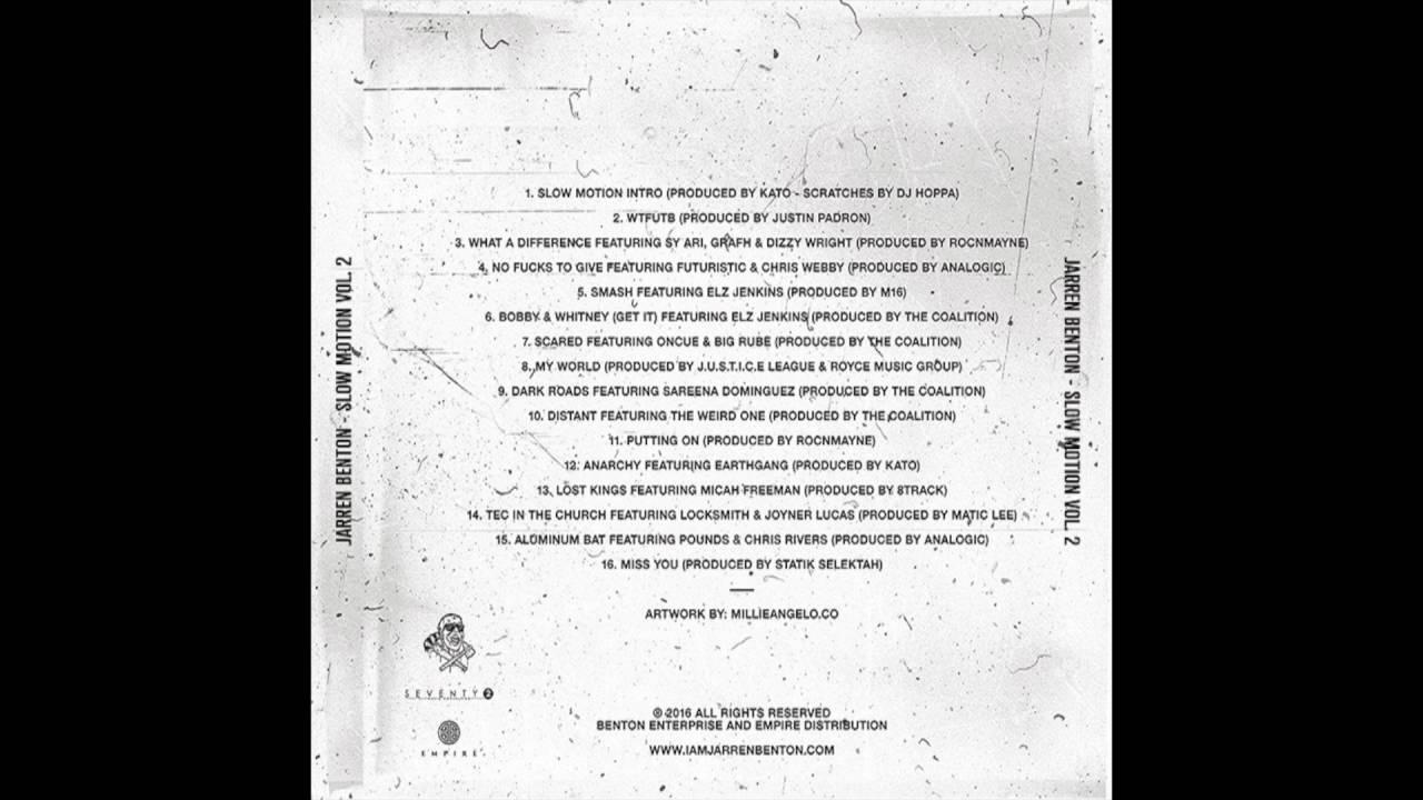 Jarren Benton - No F*cks To Give (Feat. Futuristic & Chris Webby) [Prod. By Analogic]