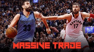 Raptors TRADE for 3x ALL-STAR - Quick Reaction to MASSIVE TRADE