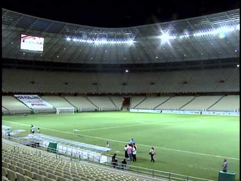 Primeiro estdio preparado para a Copa do Mundo de 2014 foi inaugurado no ltimo domingo