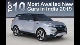 Top 10 Most Awaited New Cars in India 2019