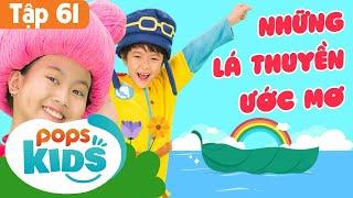 Mầm Chồi Lá Tập 61 - Những Lá Thuyền Ước Mơ | Nhạc Thiếu Nhi Cho Bé|Vietnamese Songs For Kids