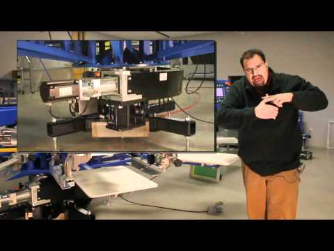 Indexing System on Mustang Screen Printing Equipment - Spider Machines Product Review