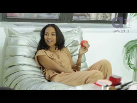 a+ mag ZOE SALDANA Behind The Scenes