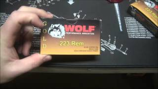 Ammo Review- Wolf Gold .223