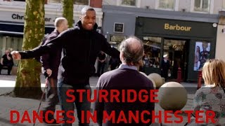 STURRIDGE DANCING IN MANCHESTER #CelebrateWithPringles