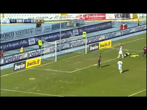 Pescara – Crotone 2-0 Highlights Sky Sport [10/09/2011]