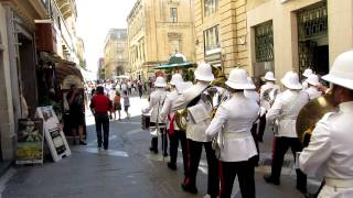 Malta, La Valletta - Canon Powershot sx 220/230 HS video test 1080p 24 fps