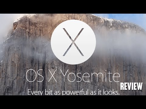 Mac OS X 10.10 Yosemite Review!