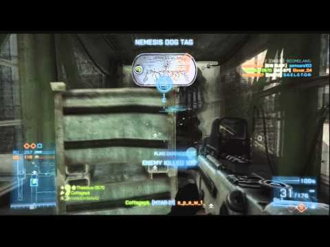 Battlefield 3 HD Conquest Domination Scrap Metal Tips Gameplay/Commentary