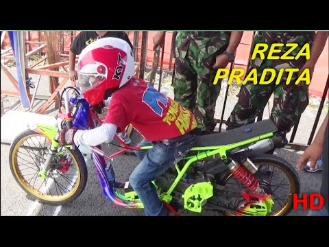 BREBES Drag Bike SERI 1 2016 Joki ANAK KECIL REZA PRADITA Class Bracket 9 Detik