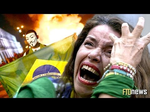 Germany VS Brazil 7-1 - Fans Crying & Riots Recap - World Cup 2014