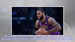 NBA, Los Angeles Lakers: LeBron James kehrt ins Training zurück