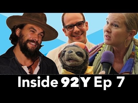 Inside 92Y: Game of Thrones' Jason Momoa conquers the camera (Ep 7)