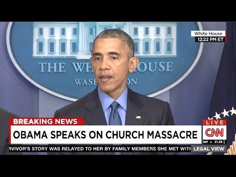 President Obama's Remarks On Charleston Church Shooting