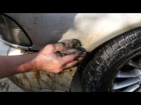 Как убрать гудрон с кузова автомобиля
