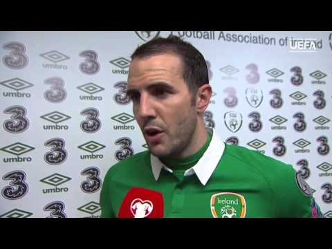 Republic of Ireland v Bosnia and Herzegovina - Post Match Interview - John O'Shea (16/11/15)
